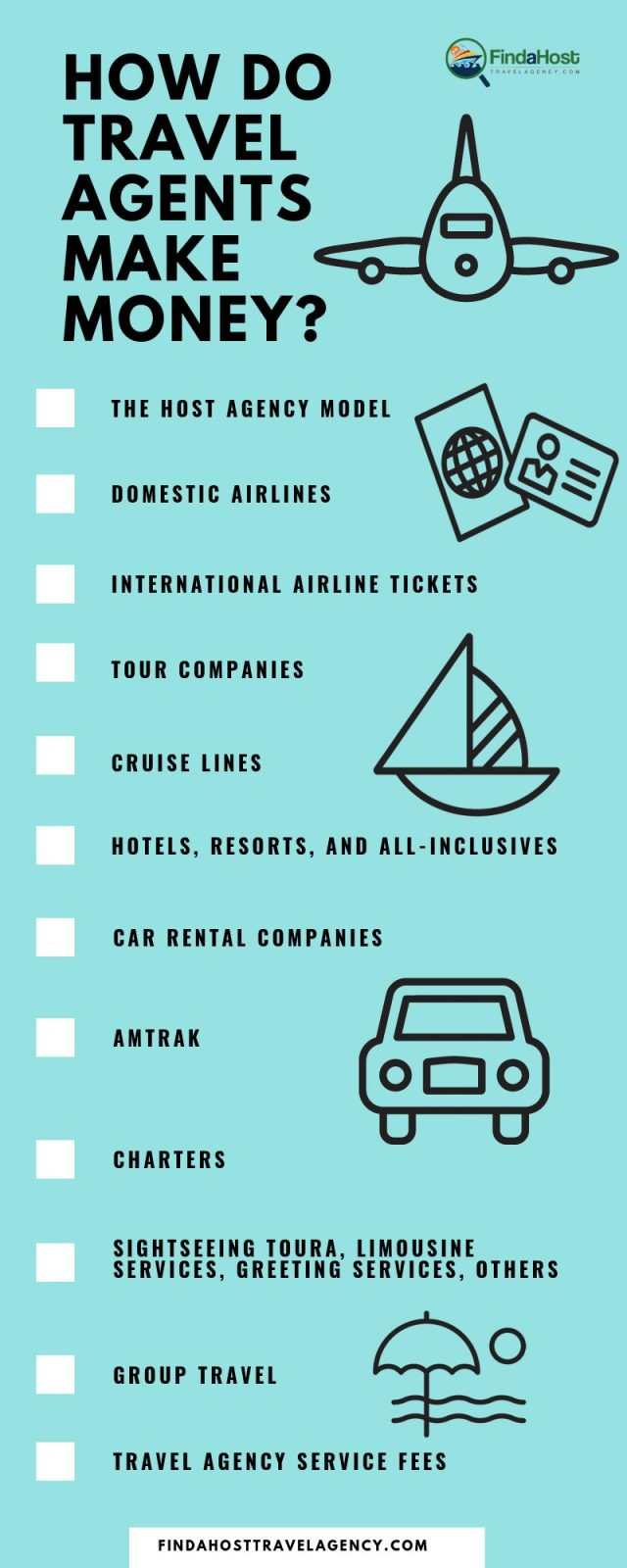 how do travel agents make money in 2019